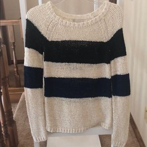 Blue and navy Hinge sweater